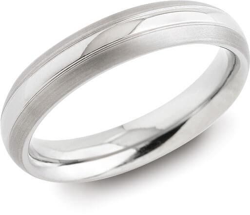 Boccia Titanium Snubní titanový prsten 0131-01 51 mm - Prsteny snubní