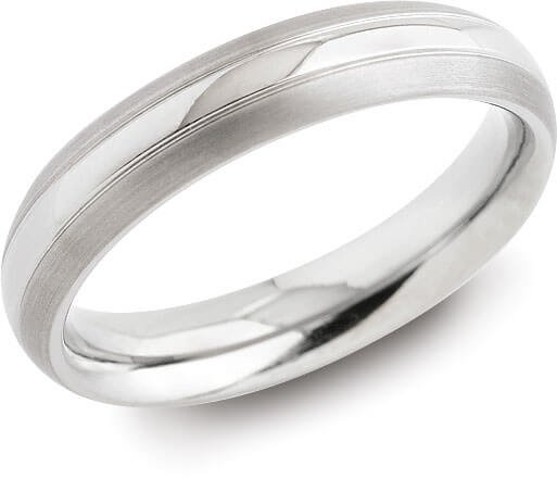Boccia Titanium Snubní titanový prsten 0131-01 51 mm