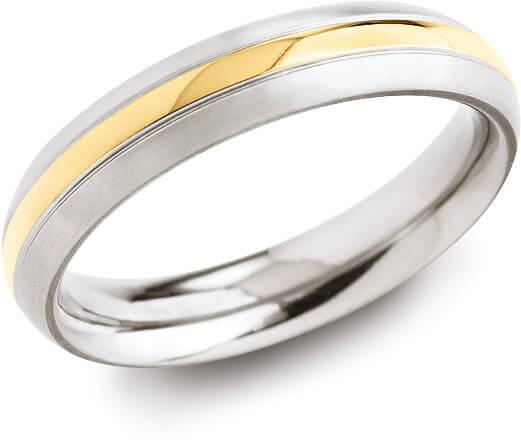 Boccia Titanium Prsten 0131-02 57 mm - Šperky Prsteny