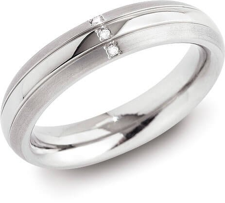 Boccia Titanium Prsten 0131-03 57 mm - Prsteny snubní