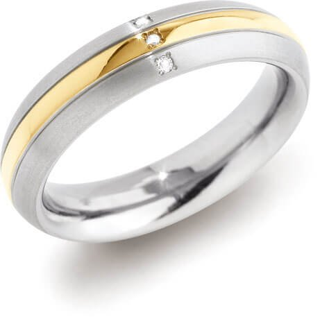 Boccia Titanium Prsten 0131-04 57 mm - Šperky Prsteny