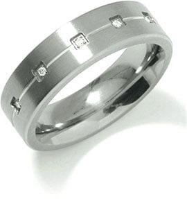 Boccia Titanium Snubní titanový prsten 0101-20 52 mm