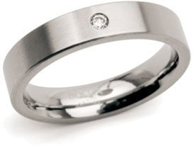 Boccia Titanium Snubní titanový prsten 0121-04 55 mm