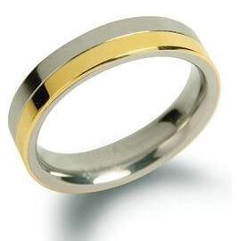 Boccia Titanium Snubní titanový prsten 0129-02 48 mm - Prsteny snubní