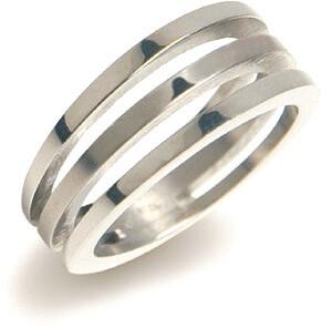 Boccia Titanium Titanový prsten 0128-01 59 mm - Šperky Prsteny