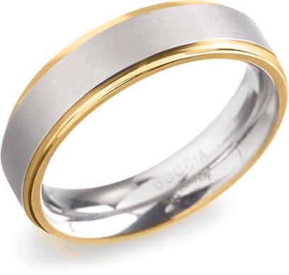 Boccia Titanium Titanový prsten 0134-05 55 mm - Prsteny snubní