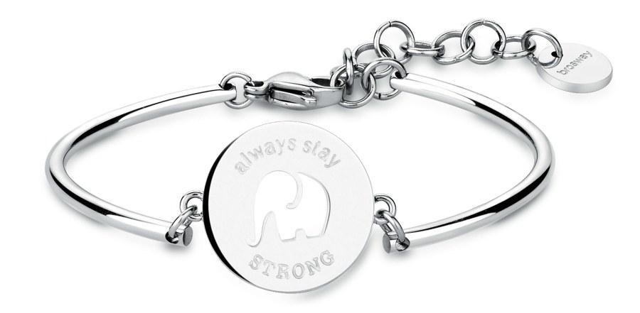 Brosway Ocelový náramek Elephant Chakra BHK23