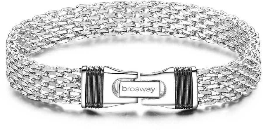Brosway Pánský ocelový náramek Uniform BNF11 21 cm
