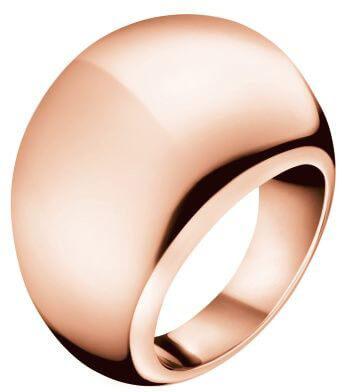 Calvin Klein Bronzový prsten Ellipse KJ3QPR1001 52 mm - Šperky Prsteny