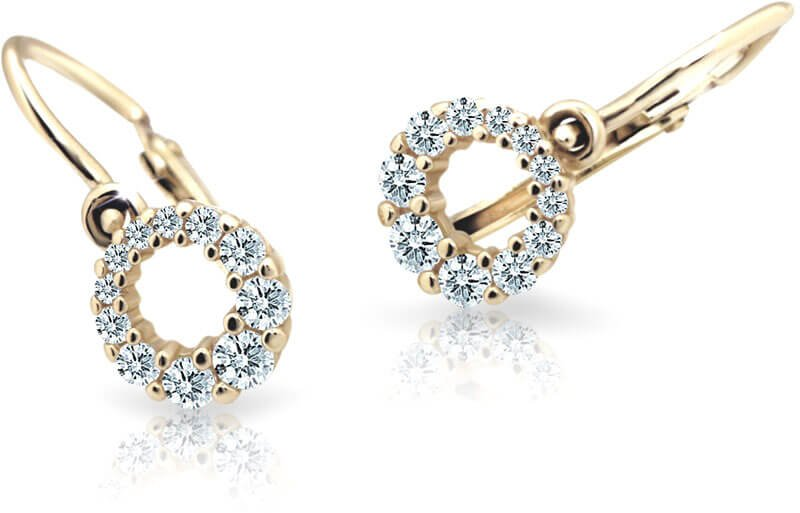 Cutie Jewellery Dětské náušnice C2154-10-X-1 světle modrá - Šperky Náušnice