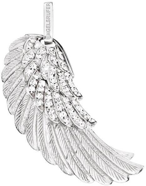Engelsrufer Stříbrný přívěsek Andělské křídlo se zirkony ERW-01-ZI 4,2 cm