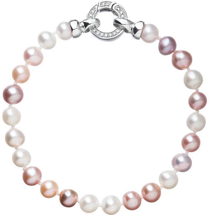 Evolution Group Barevný perlový náramek Pavona 23004.3 A