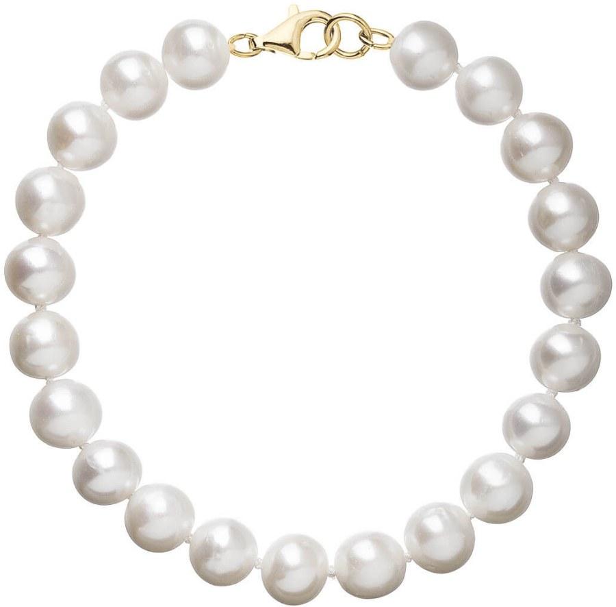 Evolution Group Nádherný náramek z pravých perel Pavona 923003.1