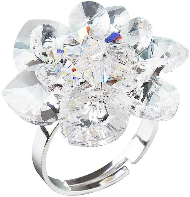 Evolution Group Prsten Leknín 35012.1 krystal - Šperky Prsteny