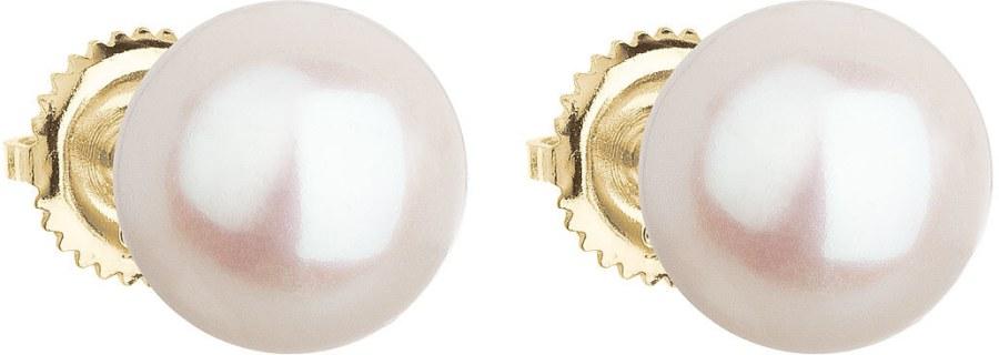 Evolution Group Zlaté perlové náušnice Pavona 921005.1