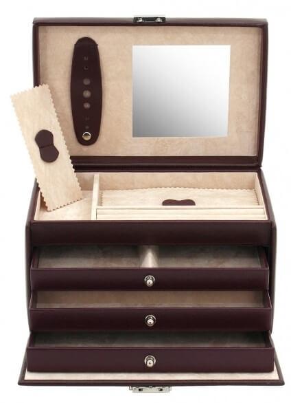 Friedrich Lederwaren Šperkovnice Classico 23231-1 - Šperky Šperkovnice