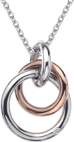 Hot Diamonds Náhrdelník Eternity Interlocking DP373