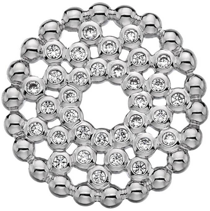 Hot Diamonds Přívěsek Hot Diamonds Emozioni Alloro Innocence Coin EC458-EC489 33 mm