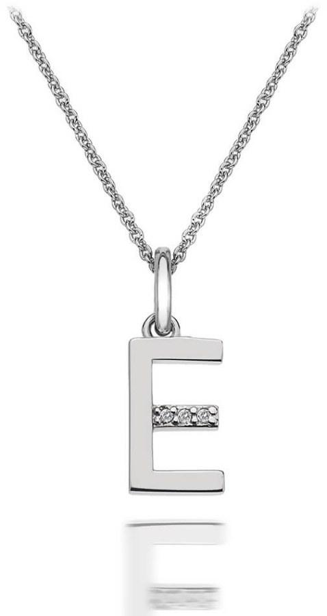 Hot Diamonds Přívěsek Hot Diamonds Micro E Clasic DP405