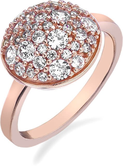 Hot Diamonds Prsten Emozioni Laghetto Bouquet Rose Gold ER012 55 mm - Šperky Prsteny