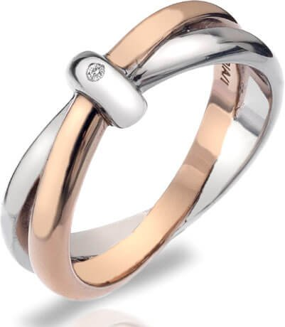 Hot Diamonds Prsten Eternity Interlocking DR112 59 mm