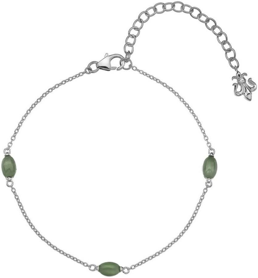 Hot Diamonds Stříbrný náramek pro narozené v březnu Anais Aventurín AB003