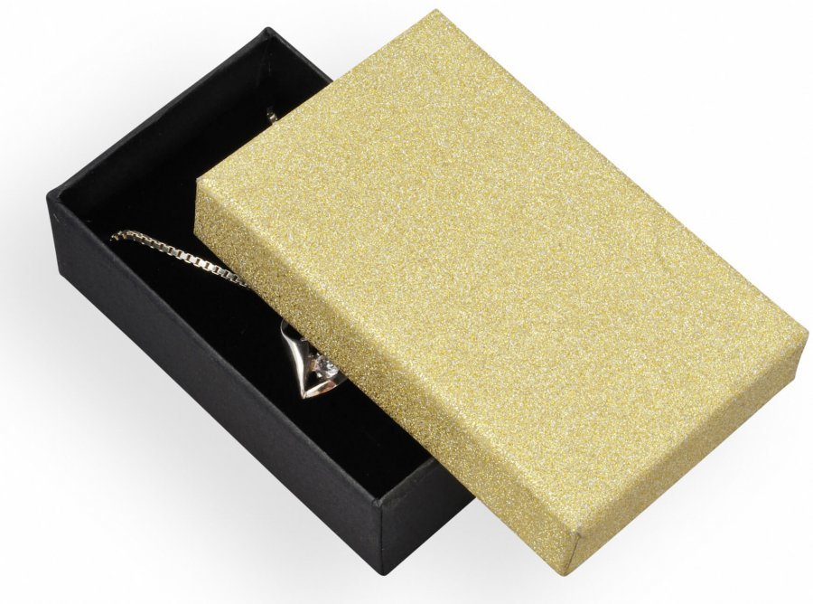 Jan KOS Dárková krabička na soupravu šperků MG-6/AU - Šperky Dárkové krabičky