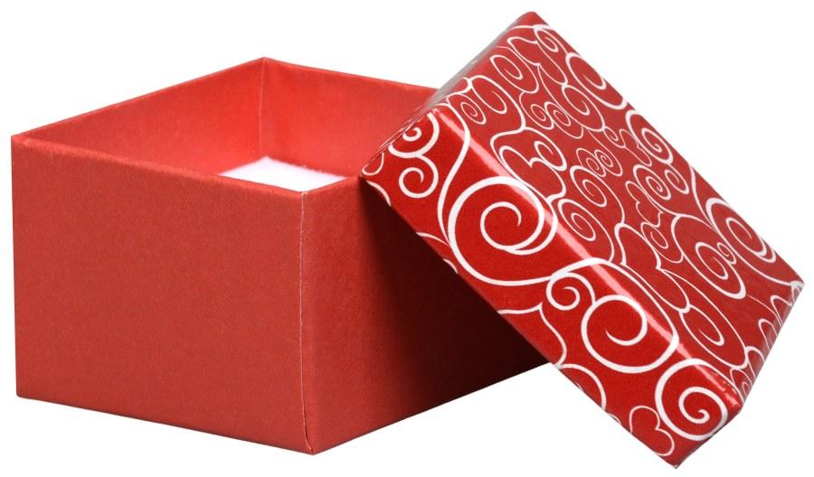 Jan KOS Romantická dárková krabička na prsten VE-3/A7
