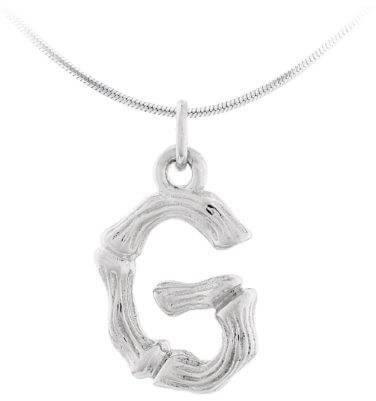 """JVD Stříbrný přívěsek písmeno """"G"""" SVLP0486XH2000G"""