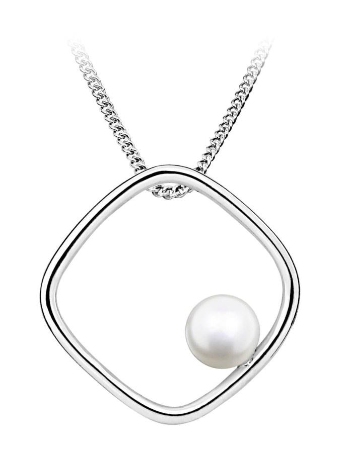 JVD Stříbrný přívěsek s přírodní perlou SVLP0332SH8P100