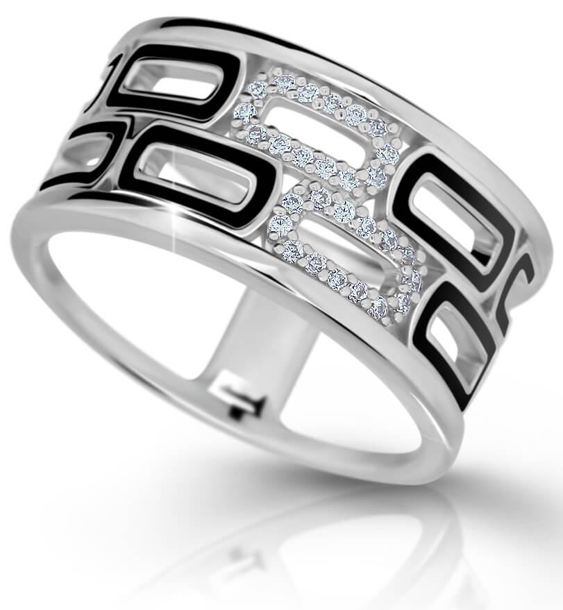 Modesi Exklusivní stříbrný prsten M11073 58 mm