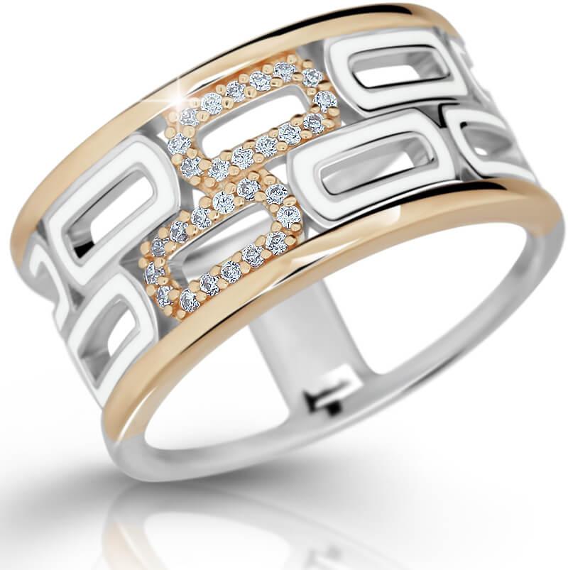 Modesi Exklusivní stříbrný prsten M11074 56 mm - Šperky Prsteny