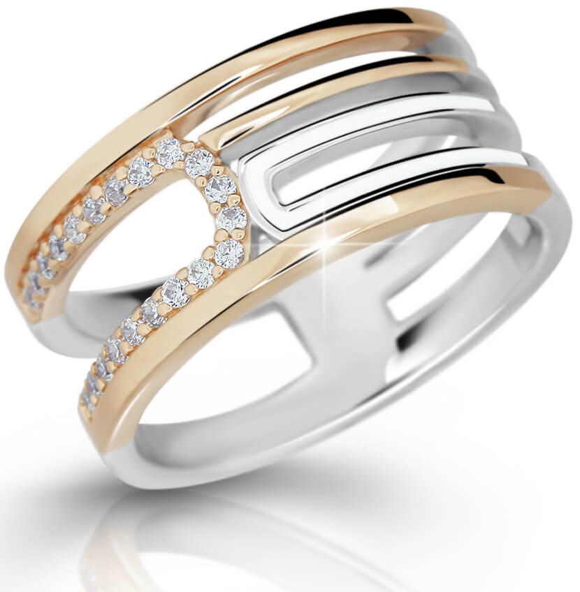 Modesi Originální stříbrný prsten M11076 58 mm - Šperky Prsteny
