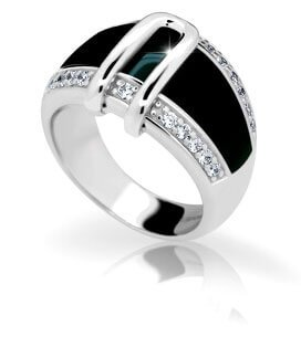 Modesi Prsten JA17176CZ 58 mm - Šperky Prsteny