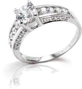 Modesi Prsten Q16851-1L 54 mm - Šperky Prsteny
