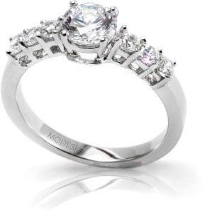 Modesi Zásnubní prsten QJRY2223L 53 mm - Prsteny zásnubní
