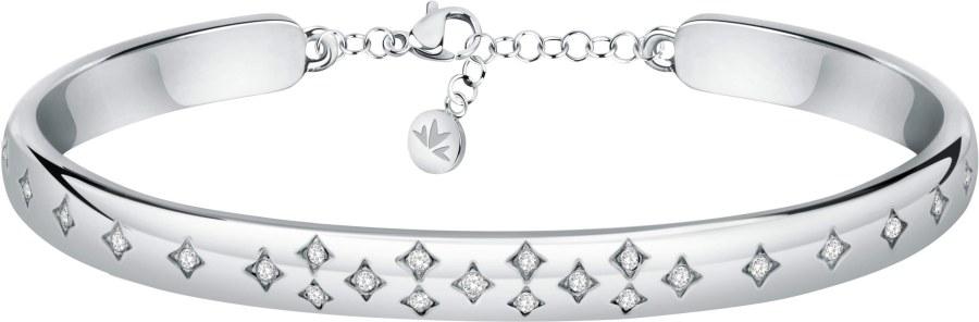 Morellato Krásný ocelový náramek s krystaly Insieme SAKM82