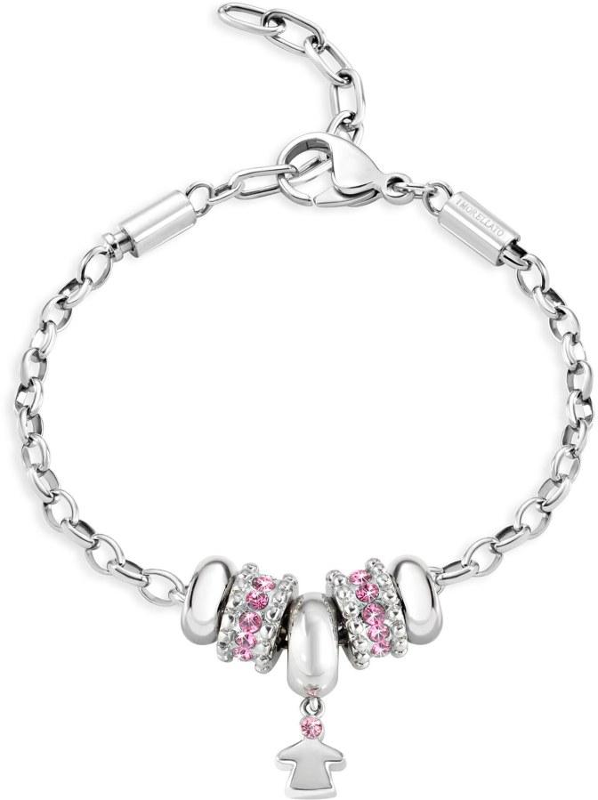 Morellato Ocelový náramek Drops Jewel SCZ683 - Šperky Náramky