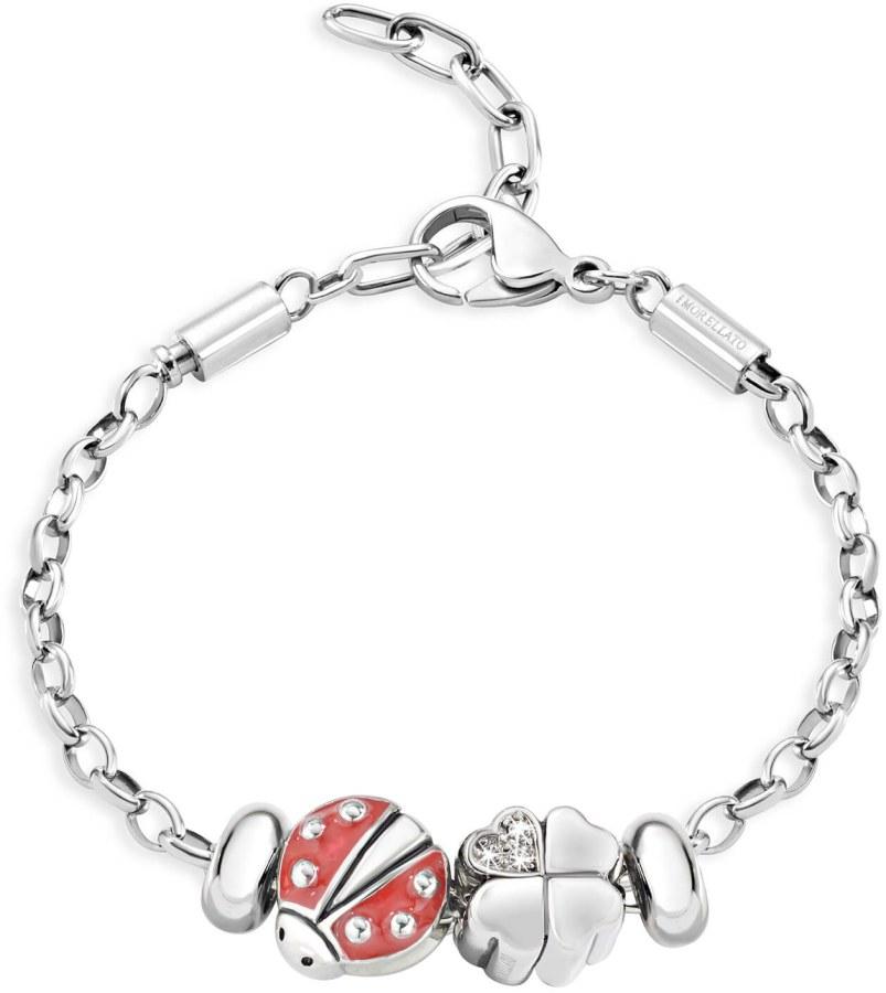 Morellato Ocelový náramek Drops Luckiness SCZ676 - Šperky Náramky