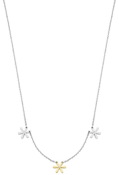 Morellato Ocelový bicolor náhrdelník Tenerezze SAGZ02