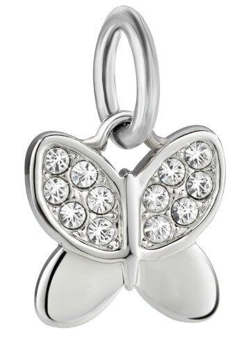 Morellato Ocelový přívěsek Drops Charms Butterfly SCZ710 - Šperky Přívěsky