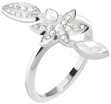 Morellato Ocelový prsten s květinou Natura SAHL17 52 mm - Šperky Prsteny