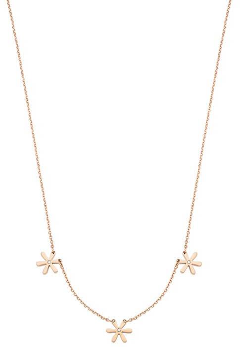 Morellato Pozlacený ocelový náhrdelník Tenerezze SAGZ01 - Šperky Náhrdelníky