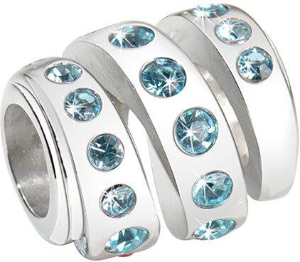 Přívěsek Morellato Drops Aquamarine Spiral CZ203 - Šperky Přívěsky