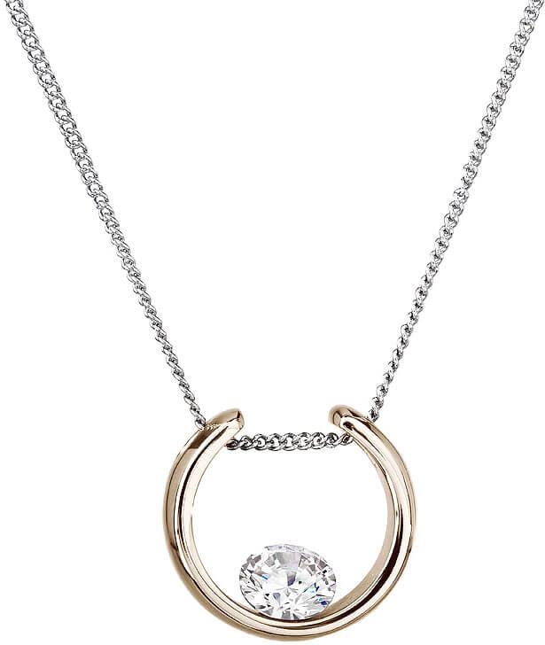 Preciosa Náhrdelník Glamorous White 7126P00 - Šperky Náhrdelníky