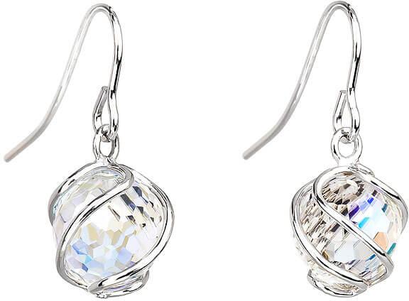 Preciosa Náušnice Romantic Beads Crystal AB 6716 42