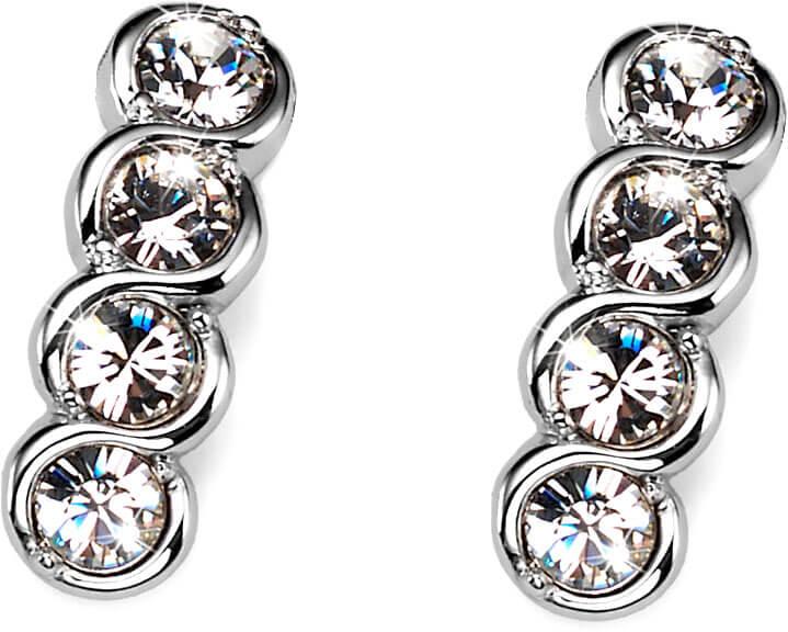 Oliver Weber Náušnice s krystaly Swarovski Four Crystal 9938-001 - Šperky Náušnice