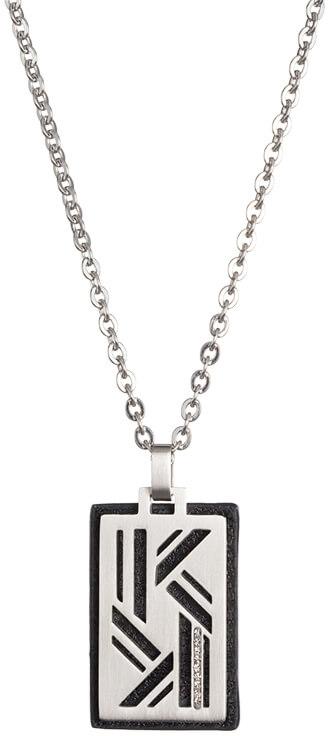 Preciosa Ocelový náhrdelník pro muže Edwin 7264 20