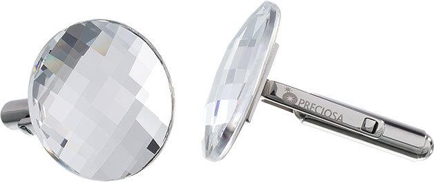 Preciosa Manžetové knoflíčky Crystal 7182 00