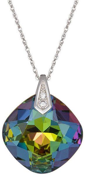 Preciosa Náhrdelník Brilliant Rose s krystalem Vitrail Medium 6011 41 - Šperky Náhrdelníky